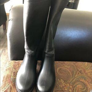 Aldo Clavie Women's Rain Boot Black Size US 7